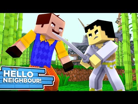 BABY HELLO NEIGHBOUR TRAPS SAMURAI JACK!! w/Liitle Carly, Little Kelly, TinyTurtle.