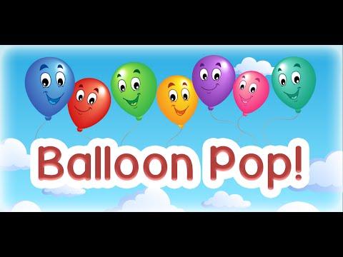 Video of Kids Balloon Pop Game Free