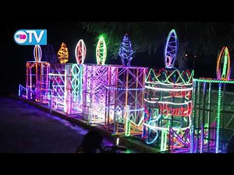 Gobierno avanza con instalación de adornos navideños en diferentes puntos de la capital