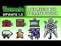 Sistema de Music Box, Prismite, Crate Potion e Zebra Skin - Terraria 1.2 #63
