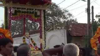 Paramaguru Siva Yogaswami arrives at Nallur Therradi for His 50th Mahasamadhi