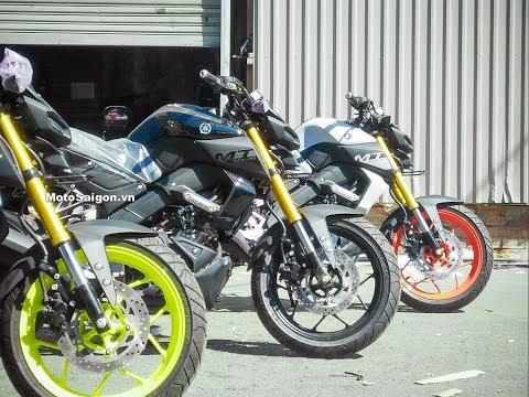 Giá xe Yamaha MT-15 2019 đủ màu sắc đầu tiên về Việt Nam - Thời lượng: 5 phút, 6 giây.