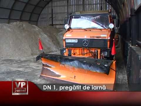 DN 1, pregătit de iarnă