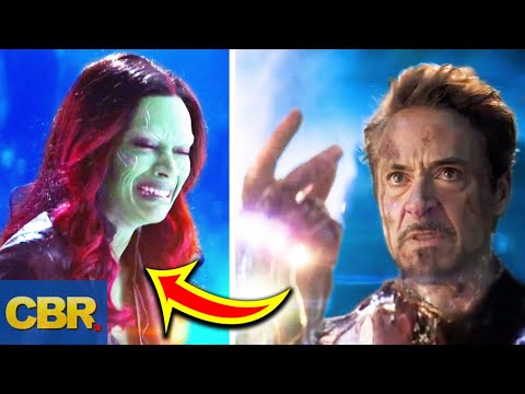 Gamora May Have Died After Tony Snapped His Fingers In Avengers Endgame