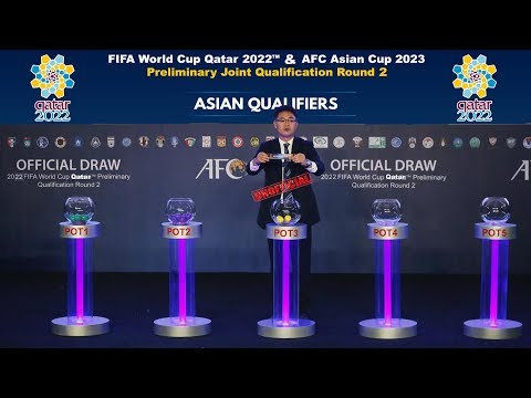2022 FIFA World Cup. Preliminary Qualification Round 2 - UnOfficial Draw