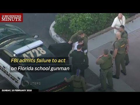 FBI admits failure to act on Florida school gunman