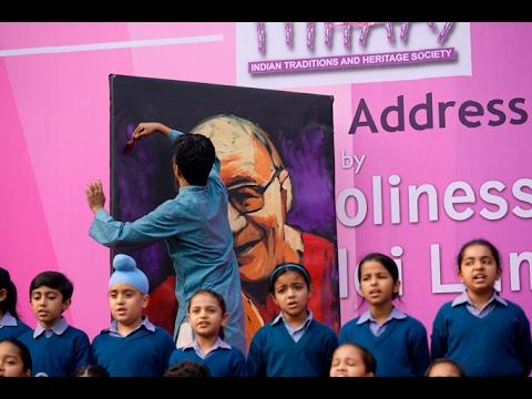 Video The Dalai Lama Live Art - Vilas Nayak download in MP3, 3GP, MP4, WEBM, AVI, FLV January 2017