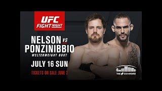 Nonton UFC Fight Night 113 Nelson vs Ponzinibbio Bro Picks Film Subtitle Indonesia Streaming Movie Download