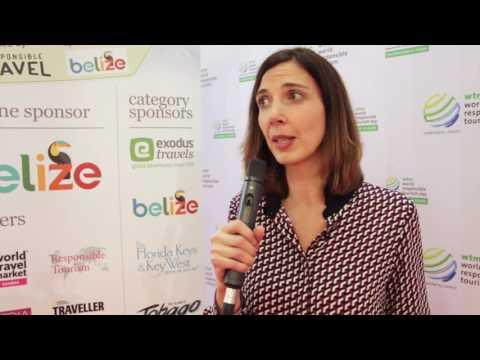 Emmanuelle Werner talks responsible tourism at WTM London 2016 (видео)