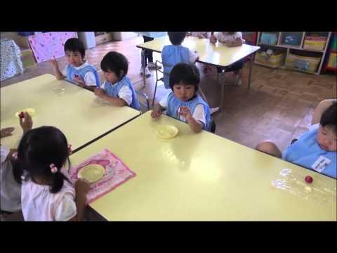 ともべ幼稚園 「みんなで作ったカブをいただきます!」