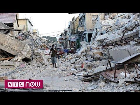 Haiti: Rung chuyển vì động đất mạnh, 10 người thiệt mạng - Thời lượng: 54 giây.