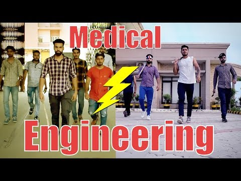 , title : 'Medical vs Engineering life | Funny | | HRzero8 |'