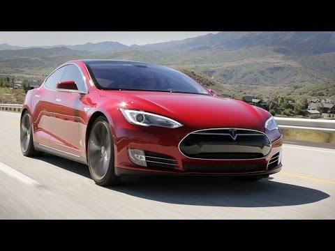 tesla - The Tesla Model S has captured the interest of nearly everyone and become the most-lauded alternative vehicle available. The guys climb into a loaded P85+ mo...