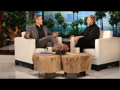 WATCH: George Clooney Talks Proposing to Amal!