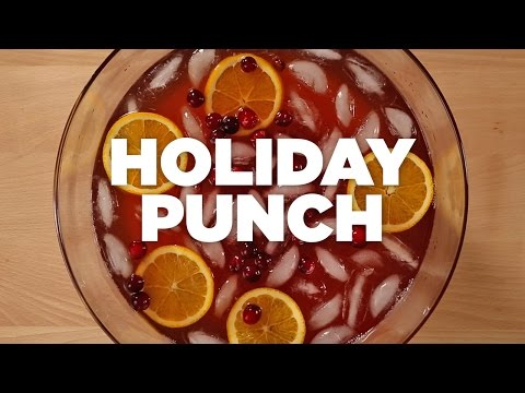 Holiday Punch - Harris Teeter Holiday Recipes