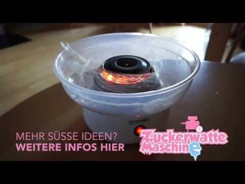 Zuckerwatte selber machen ★ Zuckerwattemaschine im Test | HD