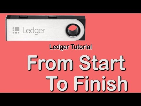 Ledger Nano S Tutorial 2019 - FULL CLASS!!! (for Absolute Beginners)