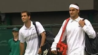 Roger Federer vs Pete Sampras Wimbledon 2001 4th Round