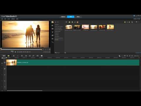 VideoStudio Timeline Editing - Getting Started