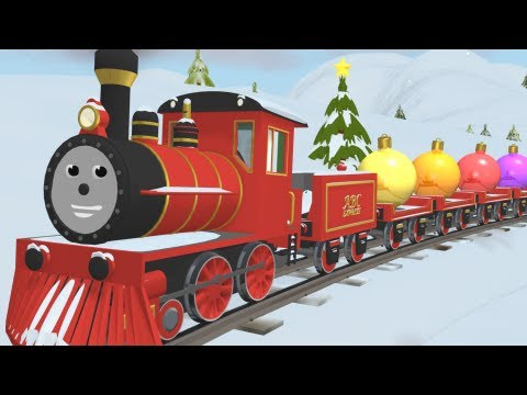Learn - Educational cartoon for children where Shawn the Train teaches different colors and decorates the Christmas tree. Great Train theme will help your child reme...