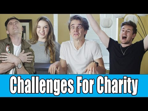 The Sugg Life // Challenges For Charity