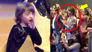 Video SRK's Son Abram Khan's CUTE Dancing Video At School Play With Shahrukh & Daughter Suhana Cheering MP3, 3GP, MP4, WEBM, AVI, FLV Mei 2018