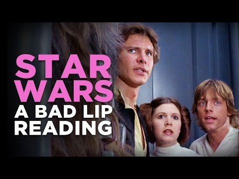 STAR WARS A Bad Lip Reading