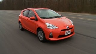 2012 Toyota Prius C: Consumer Reports First Drive