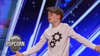 Video America's Got Talent 2017 Merrick Hanna 12 Year Old's Captivating Dance Performance Full Audition S MP3, 3GP, MP4, WEBM, AVI, FLV Juni 2017