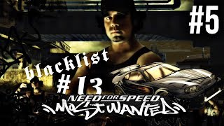 Need for Speed Most Wanted 2005 Gameplay Walkthrough Part 5 - BLACKLIST 13# VIC SUPRA • GameRiotArmy