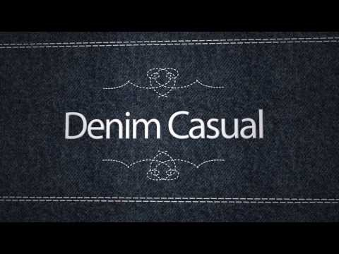 Denim Casual Opener Title Effect for FCPX
