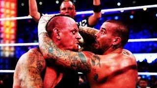 WWE - CM Punk vs Undertaker Highlights - Wrestlemania 29 - [HD]