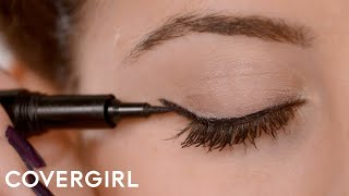 How to Apply Eyeliner: Cat Eye Makeup | COVERGIRL - YouTube