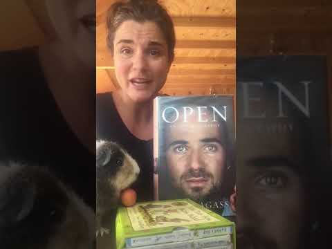 Rebecca reviews Andre Agassi's autobiography, Open