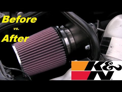 BMW E46 320Ci *AIRFILTERED SOUND* (before/after) HD