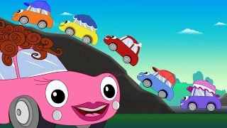 Video Five Little Cars Song + Baby Car Pom Pom + Baby Car Videos + Nursery Songs Compilation by FunForKids MP3, 3GP, MP4, WEBM, AVI, FLV Mei 2017
