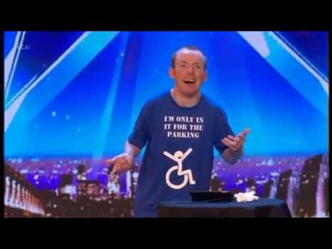BGT 2018 AUDITIONS WK2 - LOST VOICE GUY