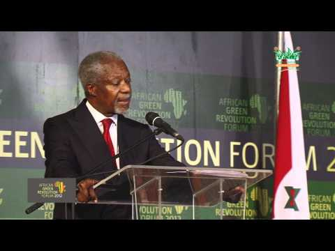 Kofi Annan Speech AGRA 2012 part 2