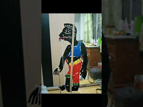 รวมหนังตะลุง ขนาด12cm.  จ.นครศรีธรรมราช 030963