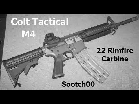 Colt Tactical 22 Rimfire M4 Carbine