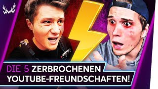 Video 5 ZERBROCHENE YouTube-Freundschaften! | TOP 5 MP3, 3GP, MP4, WEBM, AVI, FLV Agustus 2018