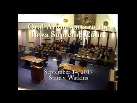 Image of 17–0183 State of Iowa v. Abraham K. Watkins