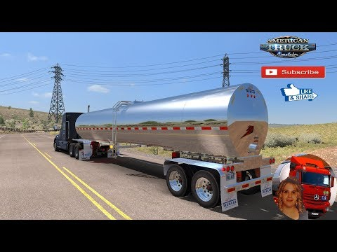 TREMCAR MILK TRAILER ATS 1.34.x