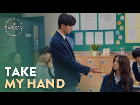 Song Kang asks for Kim So-hyun's hand to hold | Love Alarm Ep 2 [ENG SUB]