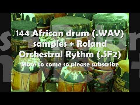 African Drum Kit + Roland Orchestral Rhythm (FREE)