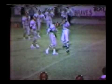 1981 Football Jackson Tigers vs. Terry Parker Braves