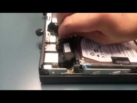 HP Mini PC ProDesk 600 quick view, open box, add RAM, internal view