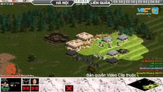 4vs4 Hà Nội, vs Liên Quân, 29/8/2015, - C2T2, game đế chế, clip aoe, chim sẻ đi nắng, aoe 2015
