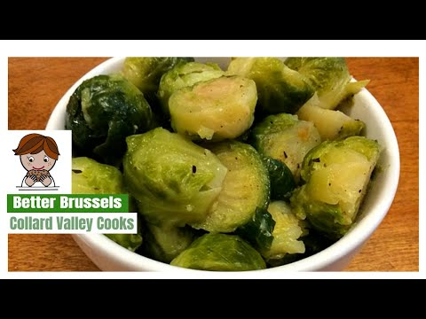 Learn How To Steam Brussel Spouts For Bright Colors And Great Flavor, CVC