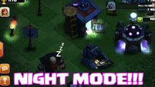 "Video NIGHT MODE ""Clash Of Clan"" 